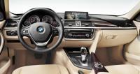 BMW F30, интерьер