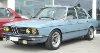 BMW E12, вид спереди