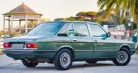 BMW E12, вид сзади
