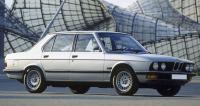BMW E28, вид спереди