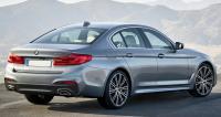 BMW G30, седан, вид сзади