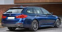 BMW G31, универсал, вид сзади