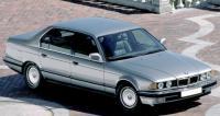 BMW E32, вид спереди