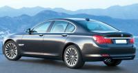BMW F01, вид сзади