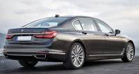 BMW G12, вид сзади