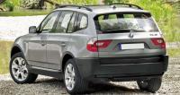 BMW X3 E83, вид сзади