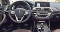 BMW X3 G01, панель управления