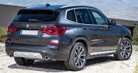 BMW X3 G01, вид сзади