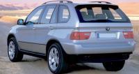 BMW X5 E53, вид сзади