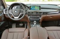 BMW X5 F15, панель управления