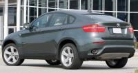BMW X6 E71, вид сзади
