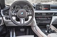 BMW X6 F16, панель управления