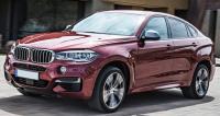 BMW X6 F16, вид спереди